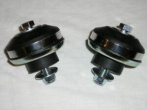 Motor Mount Biscuit Cushions Ford Flathead Sbc Chevy Street Hot Rat Rod Engine