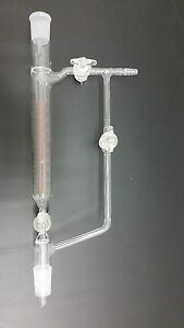 100 Ml Distillation Receiver With Glass Stopcocks