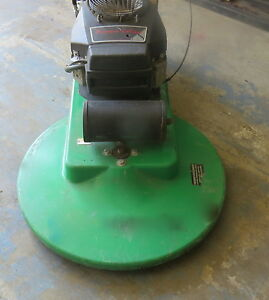 Pioneer Eclipse Mean Machine 28 Propane Floor Burnisher Buffer 17hp Kawasaki