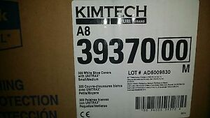 Kimberly clark Kimtech Pure A8 White Small medium Disposable Shoe Covers 300ct