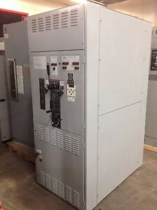 Asco 7000 Series Closed Transfer Switch W Bypass Iso 1200a 3p 480 277v Used