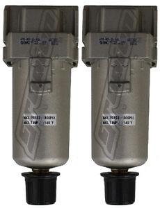 2 Pack 3 8 Smc Water Traps 300 Psi Air Bag Suspension Ride Tank Compressor