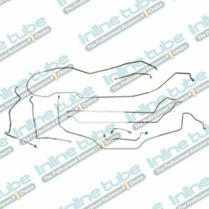 1970 Chevrolet Power Disc Chevelle Malibu Brake Line Set Lines Kit Tubes Hdt Oe