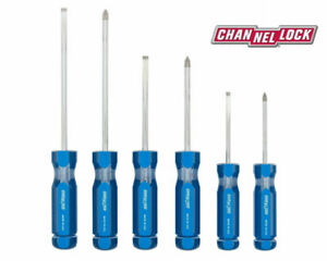 Channellock Sd 6a 6 Piece Professional Screwdriver Set