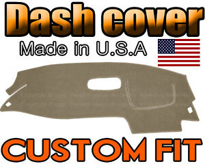 Fits 1995 2005 Chevrolet Cavalier Dash Cover Mat Dashboard Pad Beige