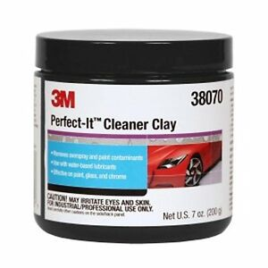 3 m 38070 Perfect it Cleaner Clay Bar auto Paint Overspray Cleaner 200grams