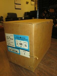 Ge Circuit Breaker Tef134015wl 15a 480vac 3p New Surplus