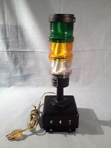 Tomar 440 Microstack Light 3 Tower With Switch Board 85 246