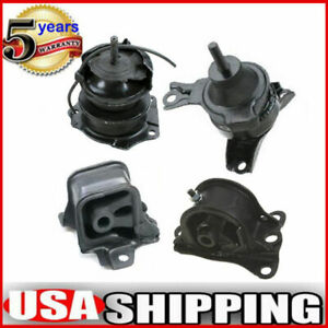 M066 Engine Motor Transmission Mount 4pcs For 1998 2002 Honda Accord 2 3l