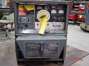 Lincoln Idealarc Dc 400 Welder Power Source 3 phase Rectifier Type