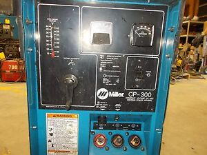 Miller Cp 300 Welder Power Source For gmaw Gas Metal Arc Welding