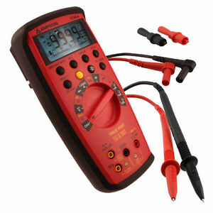 Amprobe 37xr a True Rms Digital Multimeter With Component Logic Test