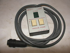 Pace Soldering Remote Vacuum Picks Switch Pace Craft 25 25e 15e