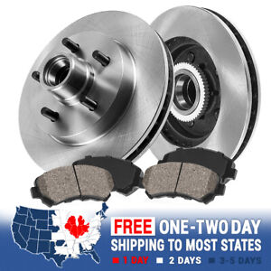 Front Brake Rotors And Ceramic Pads For 2wd Ford Explorer Ranger Mountaineer