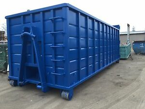 40yd Hooklift Rolloff Dumpsters Waste Roll Off Container