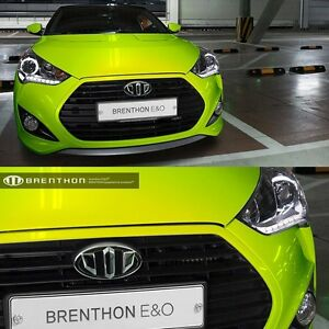 Brenthon Front Rear New Emblem Beh H55 For Hyundai Veloster Turbo Or I40 Wagon