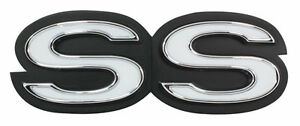 1968 68 Camaro Ss Front Emblem 350 396 With Rs Grille