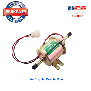 New Superior Quality Gas Diesel Inline Low Pressure Electric Fuel Pump 12v