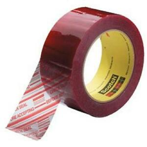 3m Scotch 2 X 110 Yds 3779 Pre printed Security 1 9 Mil Packing Tape 36 Rolls
