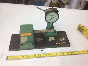 Federal Kb 410 Bench Gauge Roundness Tester With C8is Dial Indicator Tool f190