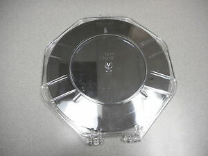 200mm Polished Silicon Test Wafer Notched no Flat In Fluoroware H93 80 Ship Tray