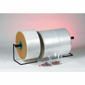 4 Mil Clear Poly Tubing 9 X 1075 Single Roll