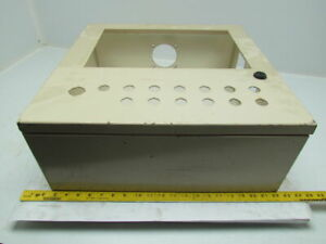 20x20x7 Steel Electrical Enclosure Box Cabinet W backplate Panelview Pushbutton