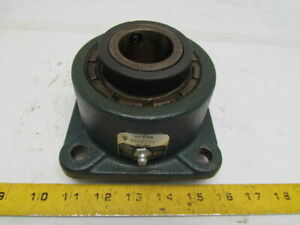 Rexnord Zf5108s 1 1 2 Bore 4 bolt Square Spherical Roller Bearing Unit