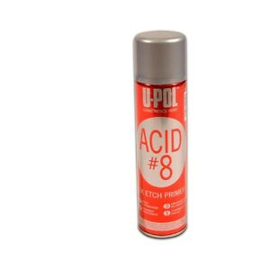 Upol Up0741 Acid 8 Acid Etch Primer Grey Aerosol 450ml