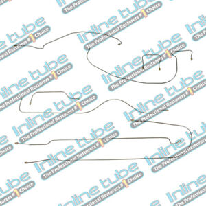 1938 Chevrolet Car 112 3 Wb Complete Brake Line Set Kit Straight Axle Oe Steel