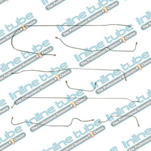 1939 Chevrolet Car 112 3 Wb Complete Brake Line Kit Set Straight Axle Oe Steel