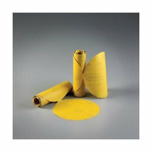 Norton 83815 6 Da Gold Reserve Sandpaper Roll stick Type 80 Grit 100 Sheets