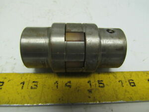 Boston Gear Fc15 7 8 Jaw Coupler Set W spider Both Bores 7 8