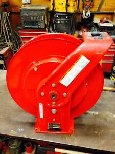 Torch Hose Reel Reelcraft 4z702b Holds 50 Of Twin Cutting Torch Hose