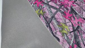 120 In Sassy B Pink True Timber Camo Auto Headliner Fabric 3 16 Foam Backing
