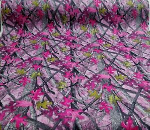 Camo Auto Headliner Fabric 90 Long True Timber Sassy B Pink 3 16 Foam Backing