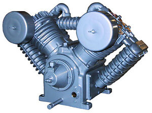 Model Ul 707 Saylor Beall Splash Lubricated Two Stage Air Compressor Bare Pump