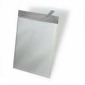 100 10x13 M4 White Poly Mailers Shipping Envelopes Plastic Bags 100 m4