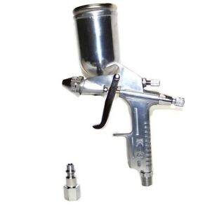 K 3 Mini Air Spray Paint Gun Air Brush Gravity Feed Aluminum Swivel Cup