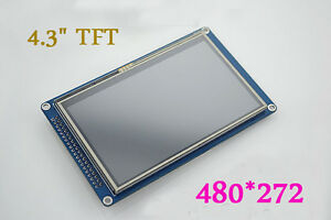 4 3 Tft Lcd Display Module 480 272 Touch Panel Sd For Arduino Uno R3 Due