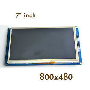 7 Inch Tft Lcd Display Module 800x480 Touch Panel Sd For Arduino Uno R3 Due