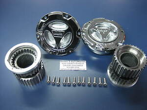Warn 95070 4wd Manual Locking Hubs 1 Ton Dana 60 50 05 Ford Superduty Front Axle