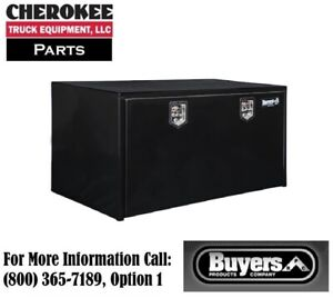 Buyers Products 1704310 Steel Underbody Toolbox 24 H X 24 D X 48 W