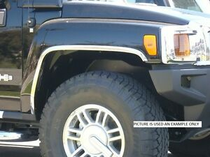 For Toyota Tacoma Lx 2wd 7702 2dr Stainless Steel Fender Trim 1995 2004