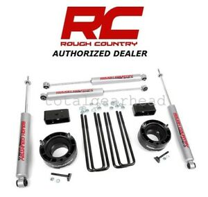1994 2001 Dodge Ram 1500 4wd 2 5 Rough Country Suspension Leveling Kit 362 20