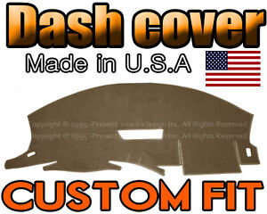 Fits 1993 1996 Chevrolet Camaro Dash Cover Mat Dashboard Pad Taupe