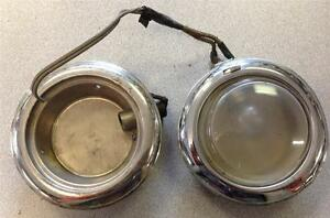2 1920 s 27 28 30 s Interior Dome Bezels 1 Glass Dome Ford Chev Car Truck