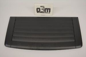 2006 2010 H3 Hummer Hood Louver Air Vent Grille Panel Gray New Oem 20880500