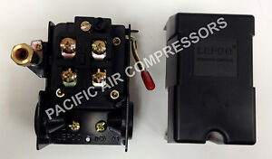 Pressure Switch Unloader On off 69mb7ly 95 125 Psi Furnas Hubbell Replacement