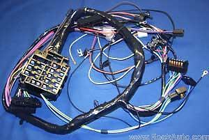 1960 64 Corvair Dash Wiring Harness